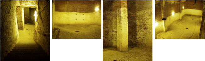 Images from the Ice cellar where Teasing was presented